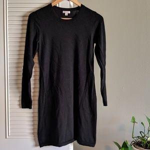 Merona Black Sweater Dress